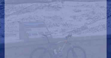 Cicloturismo sobre nieve