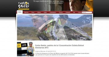 Carlos Sastre, la osadía con premio
