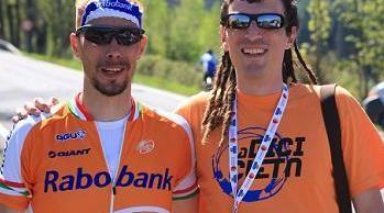 """Pedro Horrillo: """"Ya que tenía que pasar, ¡qué bonito que fuera sobre una bicicleta"""""""