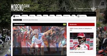 Dani Moreno: Página web oficial