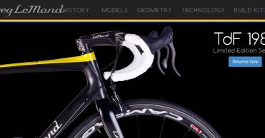 Greg Lemond: Página web oficial
