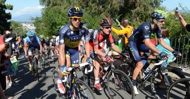 Rui Costa y Contador en la Volta ao Algarve