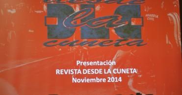 Presentación en hotel AC Feria de la revista (22/11/14)