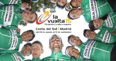 Equipo del Caja Rural para la Vuelta