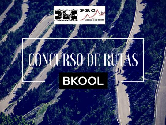 BKOOL patrocina el concurso de recorridos