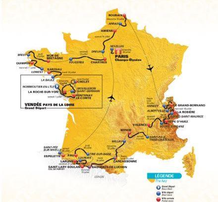 Presentado el Tour de Francia 2018: Innovación y tradición