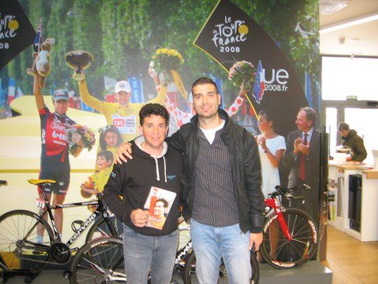 Carlos Sastre: carácter sobre la bicicleta