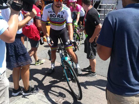 Declaraciones de Peter Sagan y Tao Geoghegan ante el reto de La Vuelta
