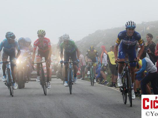 Vuelta 2018, las etapas asturianas en imágenes