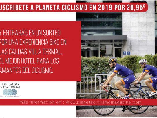 Suscríbete a Planeta Ciclismo y gana una estancia en Las Caldas
